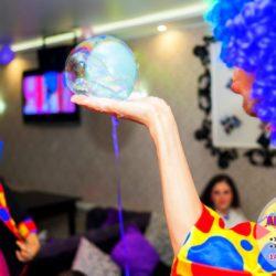 шоу мыльных пузырей на день рождения в Московской области