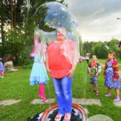 шоу мыльных пузырей на день рождения в подмосковье