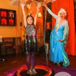 шоу мыльных пузырей на день рождения ребёнку