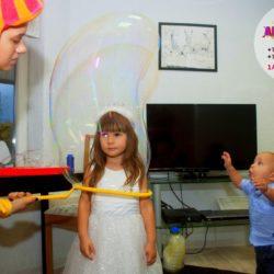 шоу мыльных пузырей для детей в Московской области