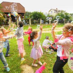 шоу мыльных пузырей для детей в Москве
