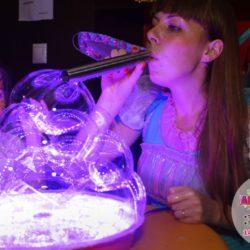 шоу мыльных пузырей на праздник в Московской области