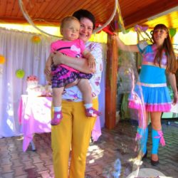 шоу мыльных пузырей на праздник в Москве