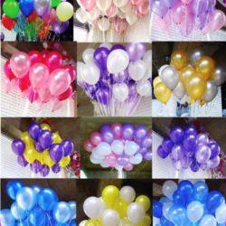 цвета воздушных шаров на детский праздник