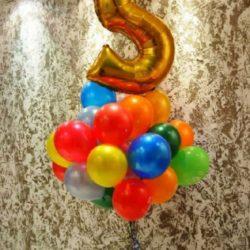 воздушные шары на день рождения ребёнка фото
