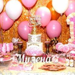 воздушные шары на годовасие ребенка