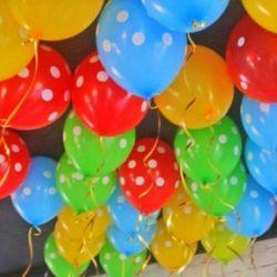 воздушные шары на выпускной в детском саду