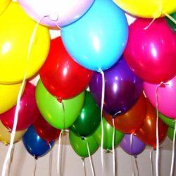 воздушные шары с рисунком и без рисунка