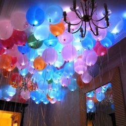 воздушные шары со светом