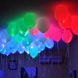 воздушные шары светящиеся в темноте