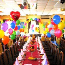 воздушные шары в ресторан на детский праздник