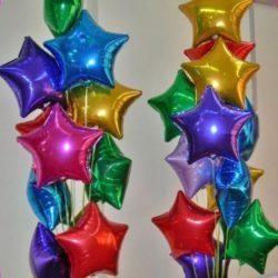 воздушные шары - звёзды на детский праздник