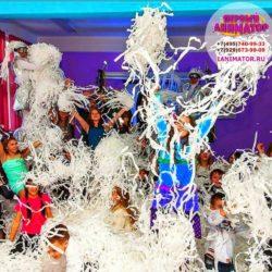 бумажное шоу в Москве на праздник