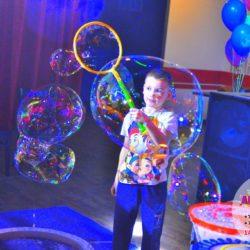 шоу мыльных пузырей в Московской области