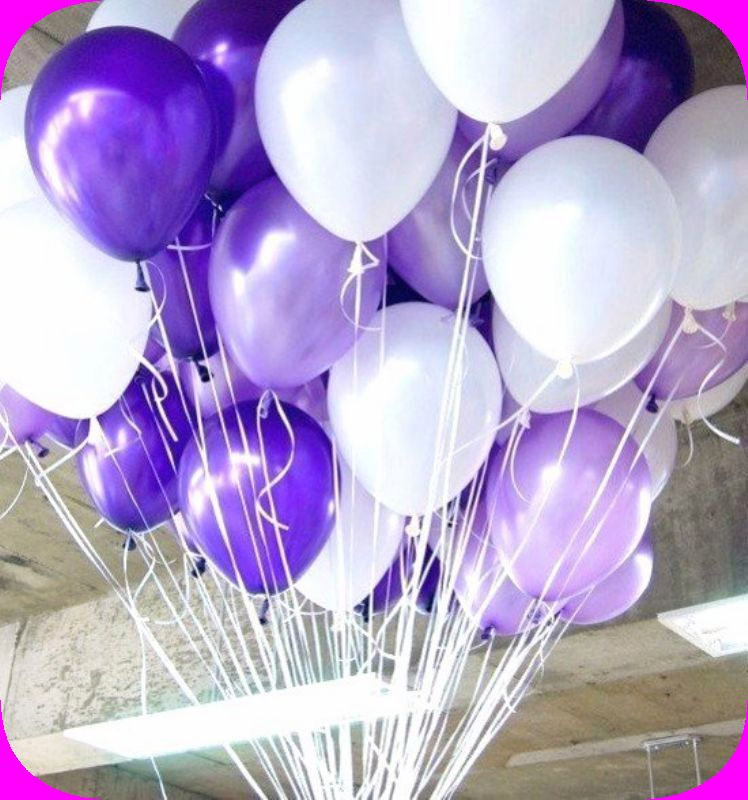 Фото воздушные шары и цветы