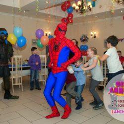 аниматор человек - паук в Москве