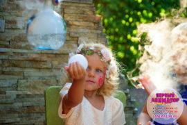 детский праздник Куровское