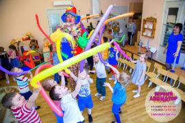 детский праздник организация Куровское
