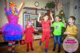аниматор на детский праздник Поварово