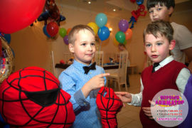 детские праздники Ржавки
