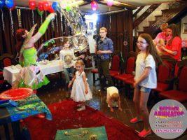 детские праздники Снегири