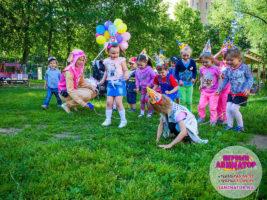 детский день рождение посёлки Икша