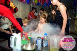 детский день рождение Загорянский