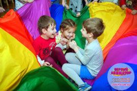 детский праздник организация Белоомут
