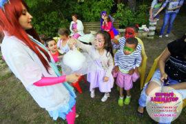 детский праздник организация Снегири