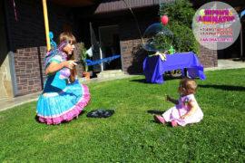 детский праздник Столбовая