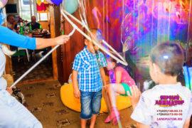детский праздник Удельная