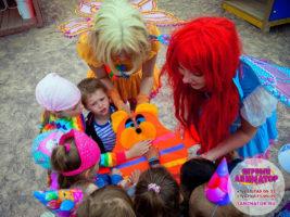 детский праздник Уваровка