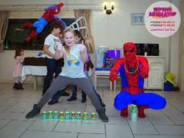 детский праздник Запрудная
