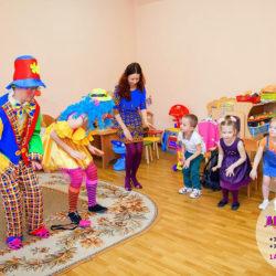 аниматор на детский день рождения в детский сад Москва