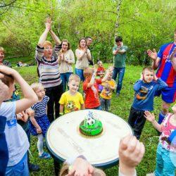 аниматоры на детский день рождения дома Москва