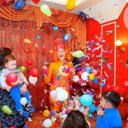 аниматоры на детский день рождения в Москве