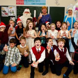 детские аниматор на новый год в школу Москва
