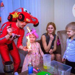 детские аниматоры на день рождения ребёнка на дом
