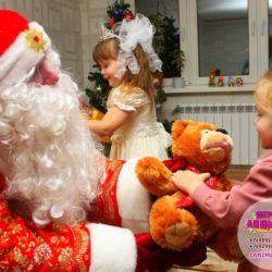 аниматор Дед Мороз в детский сад для детей
