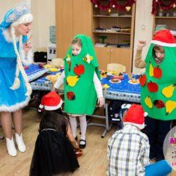 Дед Мороз и Снегурочка в школу для детей