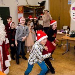 Дед Мороз и Снегурочка в школу Москва