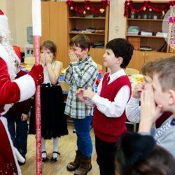 Дед Мороз и Снегурочка в школу на детский день рождения