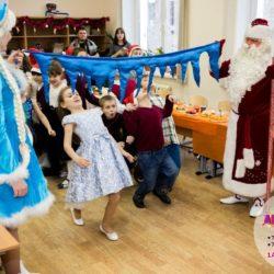 Дед Мороз и Снегурочка в школу на выпускной