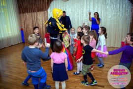 детский праздник метро Библиотека имени Ленина