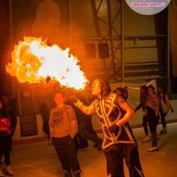 фаер шоу детский праздник в Московской области