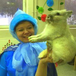 контактный зоопарк на выпускной в школу
