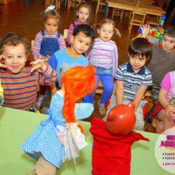 кукольный театр детям на праздник