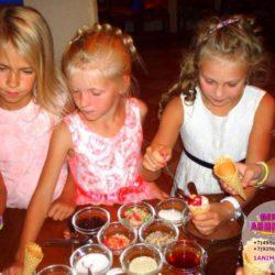 мороженое для детей на день рождения