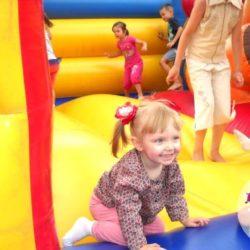 надувные батуты на праздник ребёнку