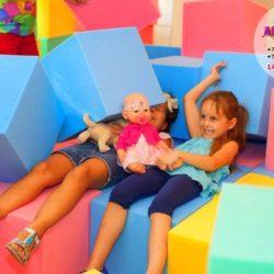 поролоновое шоу на праздник ребёнку
